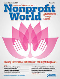 Nonprofit Word – January-March, 2016