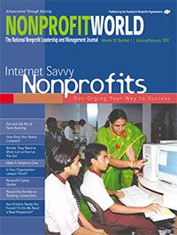 Nonprofit World - January/February 2002