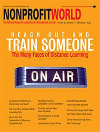 Nonprofit World - March/April 2002