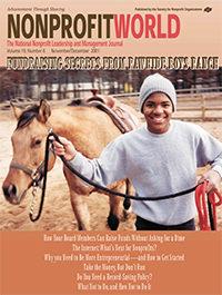 Nonprofit World - November/December 2001