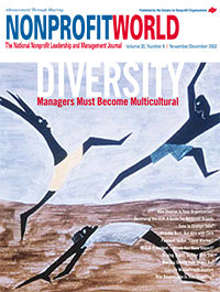 Nonprofit World - November/December 2002