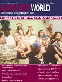 Nonprofit World - September/October 2001
